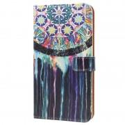 Nokia 5 Glam Wallet Case - Dreamcatcher Painting