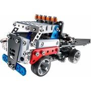 Set de construit cu piese metalice - Meccano kit camion pentru curse