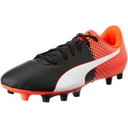 Puma Men's Evospeed 5.5 Fg Puma Black, Puma White and Red Blast Football Boots - 7 UK/India (40.5 EU)