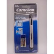 Lanterna Slim Doctor tip Pix Camelion din aluminiu baterii incluse