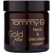 Tommy G Gold Affair creme rejuvenescedor para pescoço e decote 60 ml