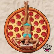 Gigantic Pizza Beach Towel