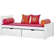Hoppekids Deluxe säng med lådor 90 x 200 cm - Hoppekids Flower Power Säng 102436
