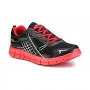 Sparx Men Black & Red Running Shoes (SM-200)