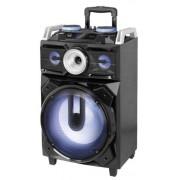 Boxa Portabila Trevi XF 1800 KB, 120 W, Radio FM (Negru)