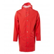 Rains Regenjassen Long Jacket Rood