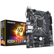 Gigabyte H310M A 2.0 Processor family Intel, Processor socket LGA1151, DDR4 DIMM