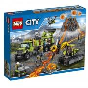 LEGO City vulkaan onderzoeksbasis 60124