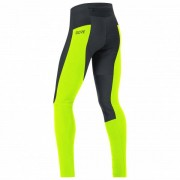 GORE Wear - C3 Partial Gore Windstopper Tights+ - Pantalon de vélo taille L, vert/noir