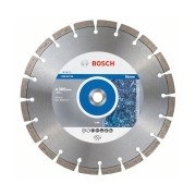 Bosch - Expert for Stone - Disc diamantat de taiere segmentat, 300x20x2.8 mm, taiere uscata, calitate medie