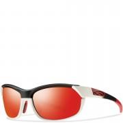 Smith PivLock Overdrive Sunglasses - White/Red