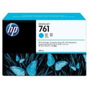 HP 761 Cyan Designjet Ink Cartridge, 400ml (CM994A)