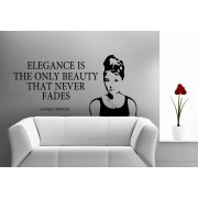 Elegance - Audrey Hepburn, falmatrica