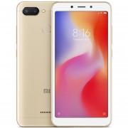 Original Smartphone Xiaomi Redmi 6 Helio P22 3GB RAM+32GB ROM-Dorado