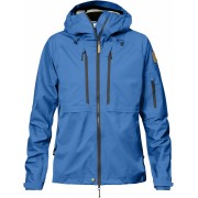 FjallRaven Keb Eco-Shell Jacket W - UN Blue - Vestes de Pluie XXS