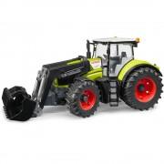 Bruder - claas axion 950 trattore con benna