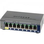 8x 10/100/1000 Gigabit Ethernet Smart Switch - GS108T-200GES