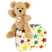 Steiff Teddybeer met koffer Fynn 23 cm - Beige