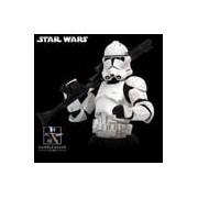 Star Wars Episode III: Revenge Of The Sith Clone Trooper White Mini-Bust