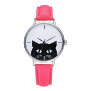 Cat Leather Cute Watches