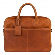 Burkely Antique Avery Laptoptas Cognac 15.6 inch