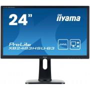 IIYAMA ProLite XB2483HSU-B3 Monitor Led 24'' Full HD (1080p) A-MVA 250 cd m² 3000:1 4 ms HDMI, VGA, DisplayPort altoparlanti nero