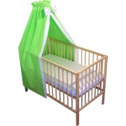 Baldachin patut bebe verde
