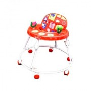 Mother Touch Round Walker- Red