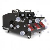 Beamz SB2000LED máquina de niebla y pompinas de jabón 2000W, tanque de 1,35 l RGB-LEDs DMX (160.527)