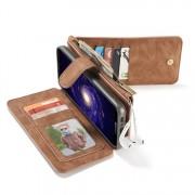Samsung Galaxy S8+ Leren portemonnee hoesje met uitneembare telefoon case