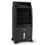 oneConcept CTR-1 Air Cooler CTR-1 v2 4-in-1 Mobile Air Conditioner Humidifier Purifier Ioniser 65W Remote Control Black