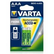 Acumulator R3 AAA 800 mAh 2 buc/blister VARTA
