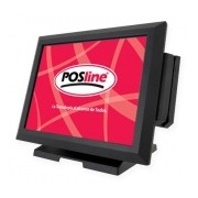 POSline TS8060E Sistema POS 15'', Intel Cedarview D2550 Dual Core 1.86GHz, 4GB
