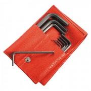 Facom 82H.JL13 Insexnyckelsats korta, i fodral 3 mm-19 mm, 13 st.