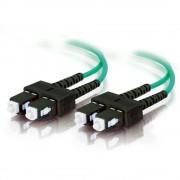 C2G SC-SC 10Gb 50/125 OM3 Duplex Multimode PVC