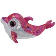 Ty Beanie Pluche roze Ty Beanie dolfijn 24 cm