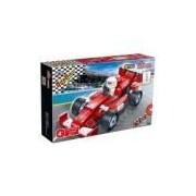 Brinquedo De Montar Corrida Carro Dragao Banbao 102 Pecas Ref 8611