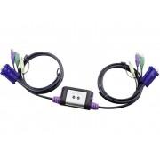 Aten CS62AZ-AA 2 Port KVM-Switch VGA PS/2 2048 x 1536 pixel