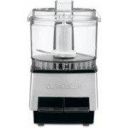 Cuisinart Mini-Prep 21-Ounce Food Processor Black Stainless 500 W Food Processor(Silver)