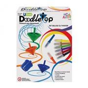 Micul Artist - Set titirez varf carioca Deluxe Doodletop cu Twister