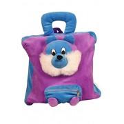 Natali Soft Stuffed School, Picnic Bag for Nursery Kids (Lion Bag) | Birthday Gift for Kids