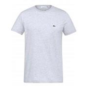 Lacoste Heren Shirt met ronde hals Van Lacoste grijs
