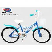 Bicicleta 20 Frozen Toimsa
