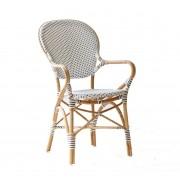 Sika-Design Isabell caféstol karmstol vit, sika-design