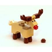Lego Santas Reindeer (Rudolf) Loose (Moose, Deer)