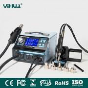 YIHUA 992DA+ - професионална станция за запояване за ремонт на мобилни устройства и електроника