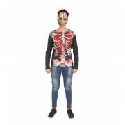Disfraz de Camiseta Skeleto - Creaciones Llopis