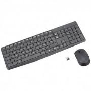 LOGITECH Kit clavier + souris sans fil MK235