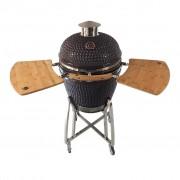GRILL GURU KAMADO roštilj na drveni ugljen / 46 cm / super dodatna oprema
