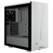 Компютърна кутия Corsair Carbide SPEC-06 (Mid-Tower), Tempered Glass, бял, CC-9011145-WW
